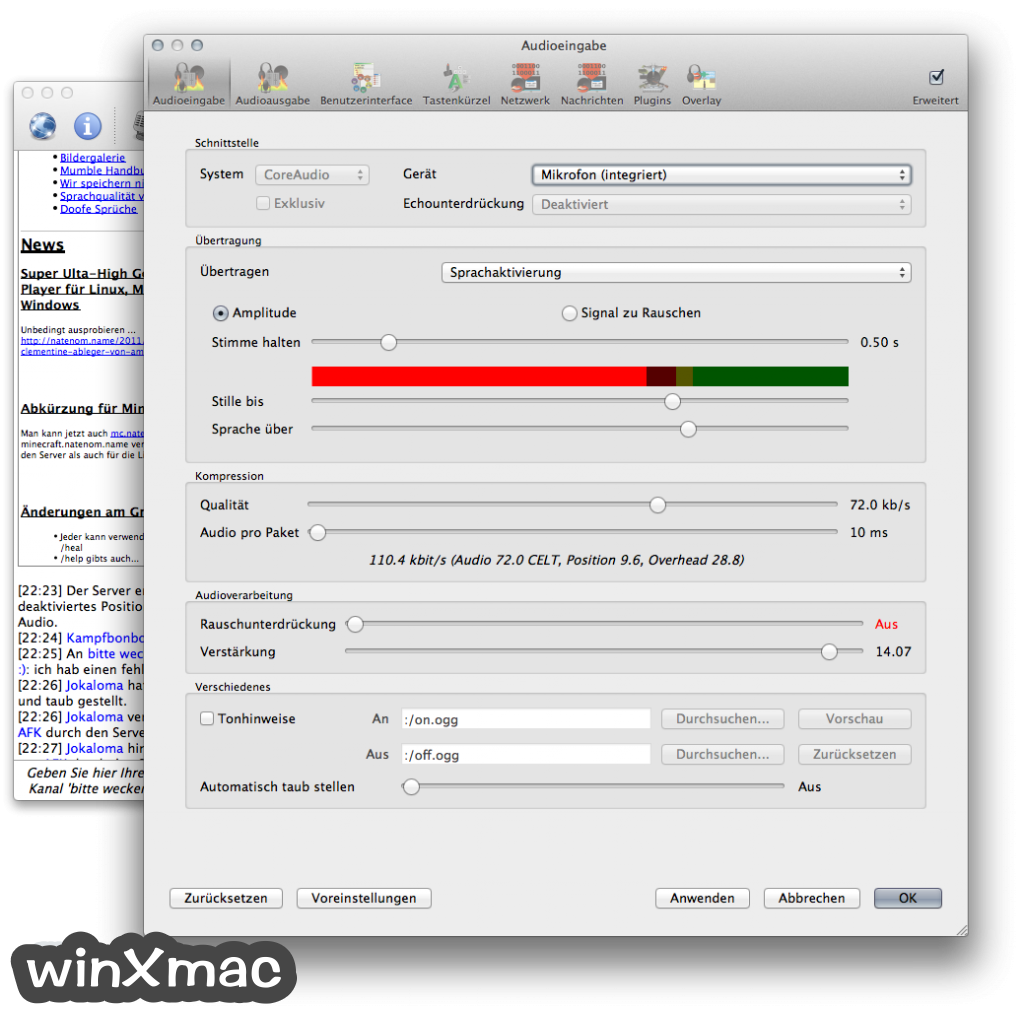 Mumble for Mac Screenshot 3