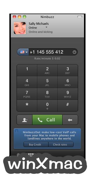 Nimbuzz! for Mac Screenshot 2