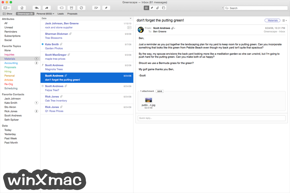 Postbox for Mac Screenshot 4