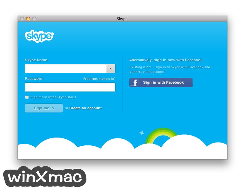 Skype for Mac Screenshot 1