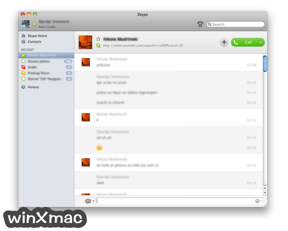 Skype for Mac Screenshot 3