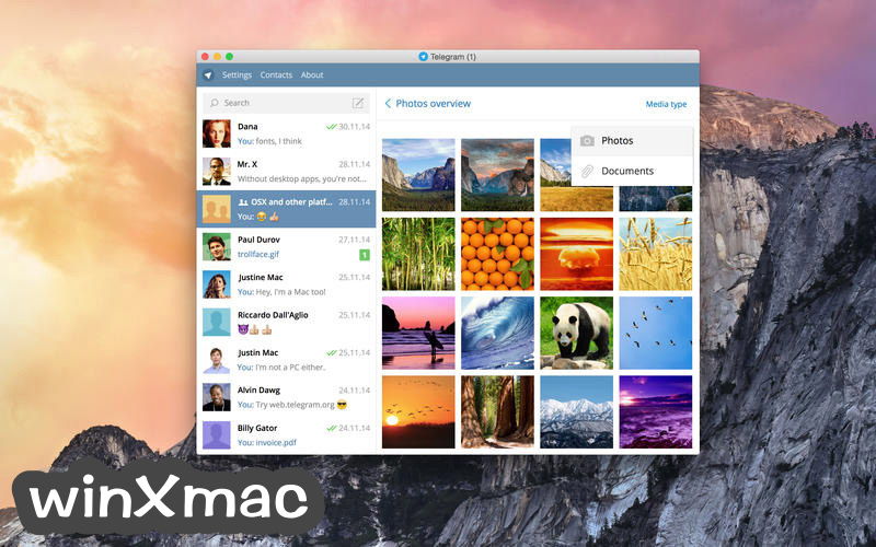 Telegram for Mac Screenshot 3