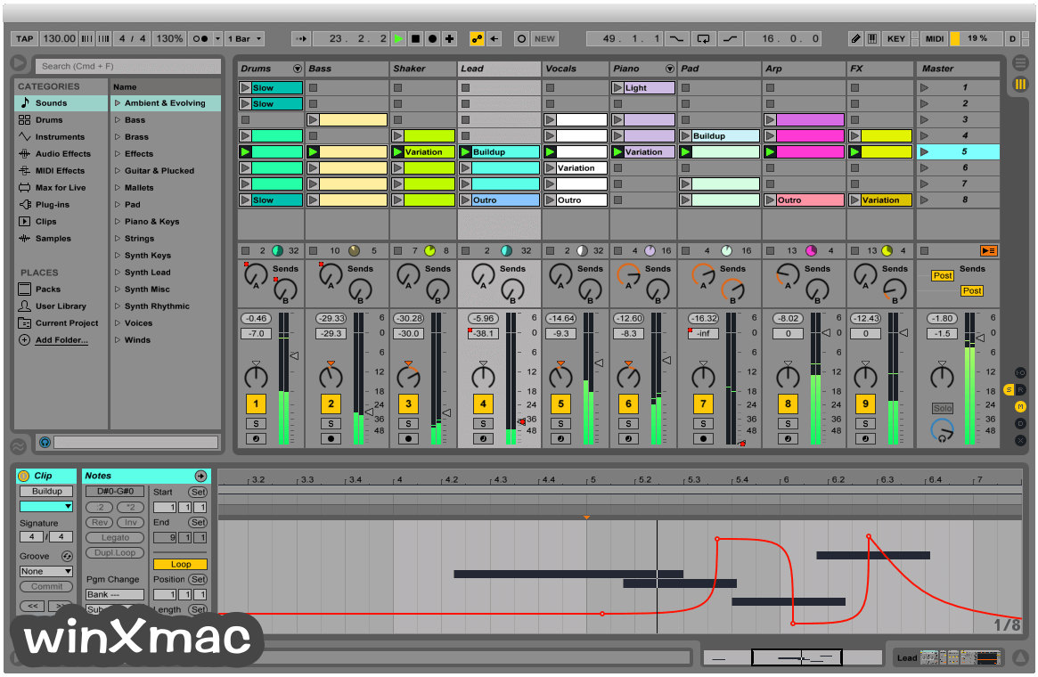 Ableton Live for Mac Screenshot 1