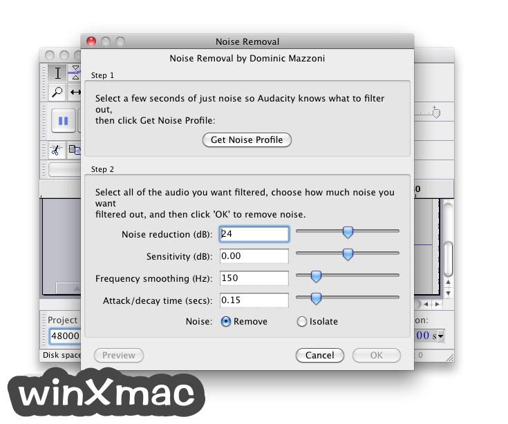 Audacity for Mac Screenshot 4