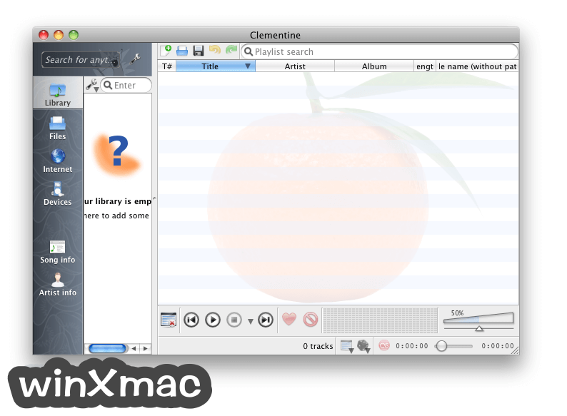 Clementine for Mac Screenshot 1