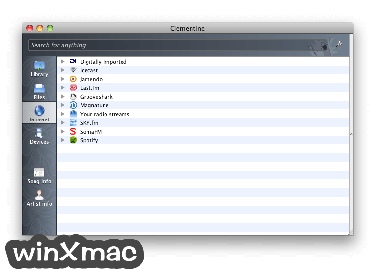 Clementine for Mac Screenshot 5