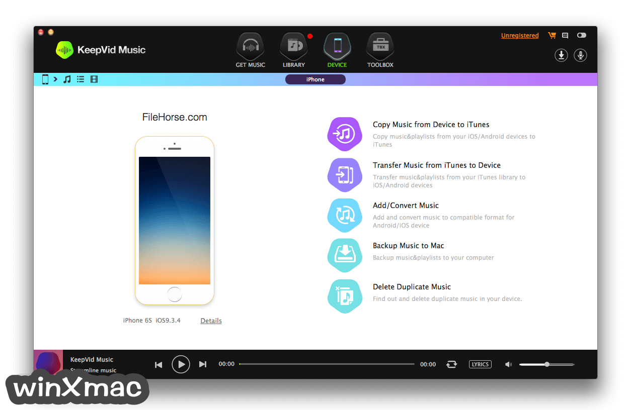 KeepVid Music for Mac Screenshot 2