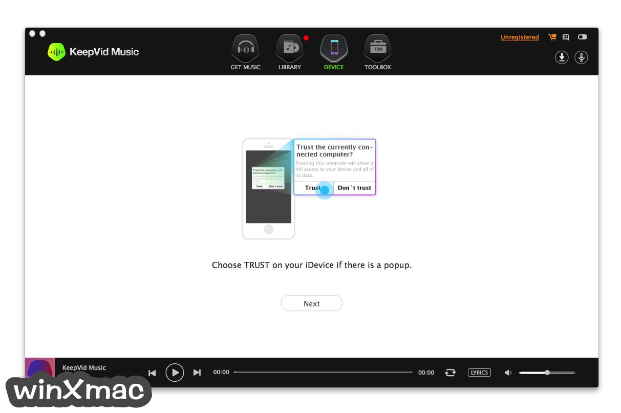 KeepVid Music for Mac Screenshot 3