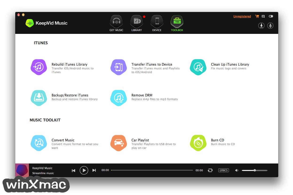 KeepVid Music for Mac Screenshot 4