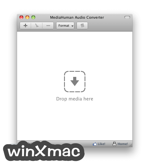 MediaHuman Audio Converter for Mac Screenshot 1