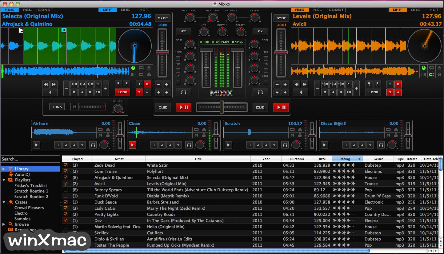 Mixxx for Mac Screenshot 1