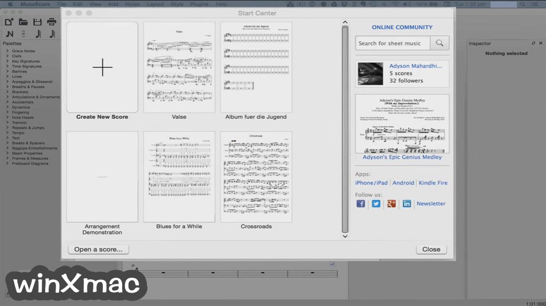 MuseScore for Mac Screenshot 1