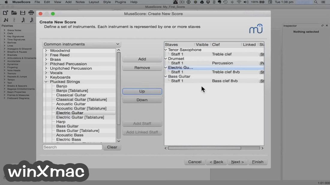MuseScore for Mac Screenshot 2