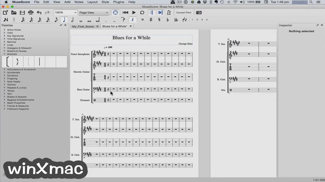 MuseScore for Mac Screenshot 3
