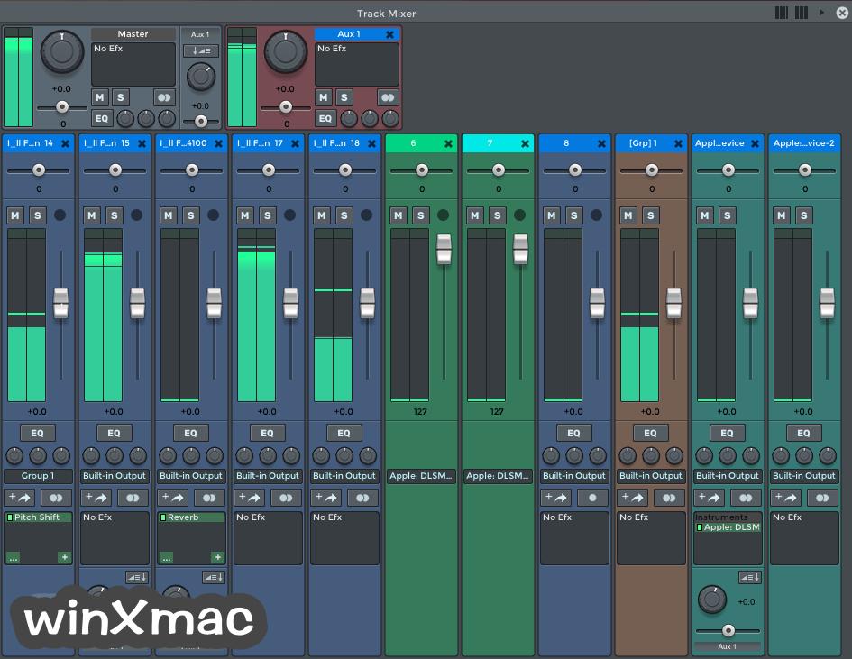 n-Track Studio for Mac Screenshot 2