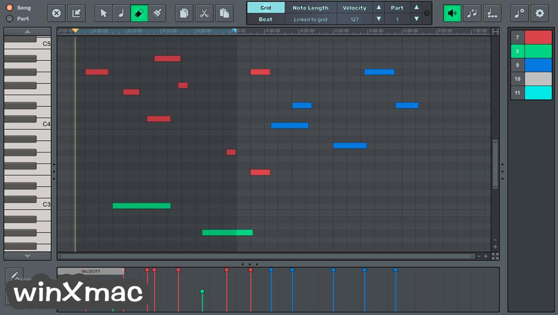 n-Track Studio for Mac Screenshot 4