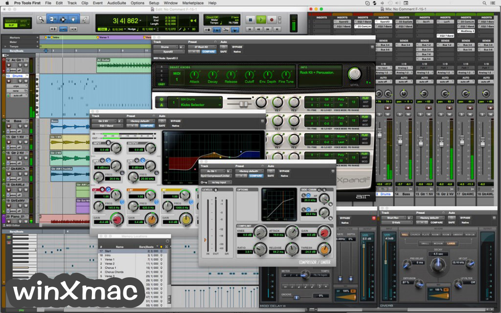 Pro Tools for Mac Screenshot 1