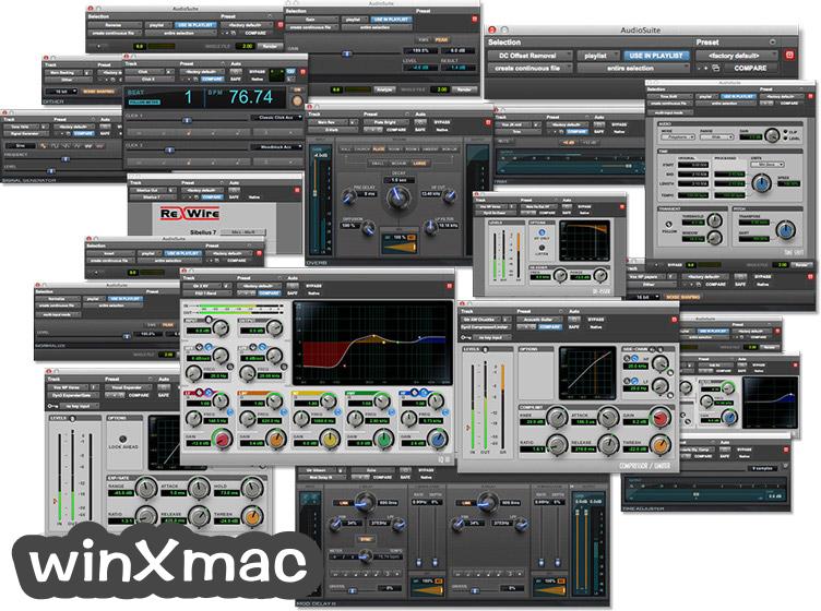 Pro Tools for Mac Screenshot 2