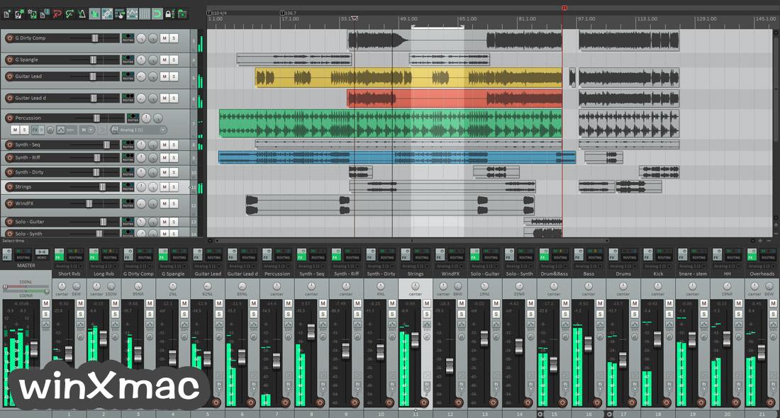 REAPER for Mac Screenshot 1