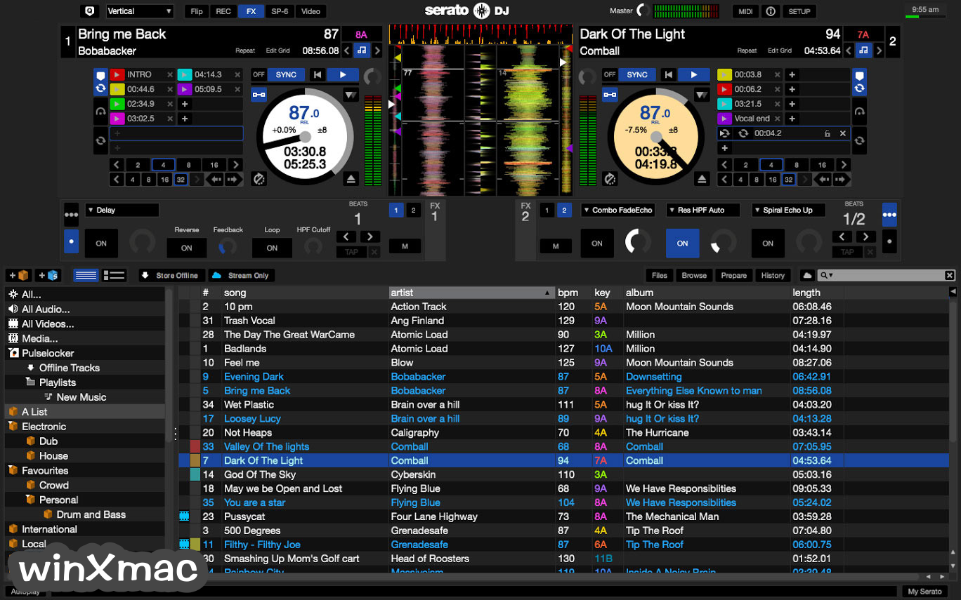 Serato DJ for Mac Screenshot 1