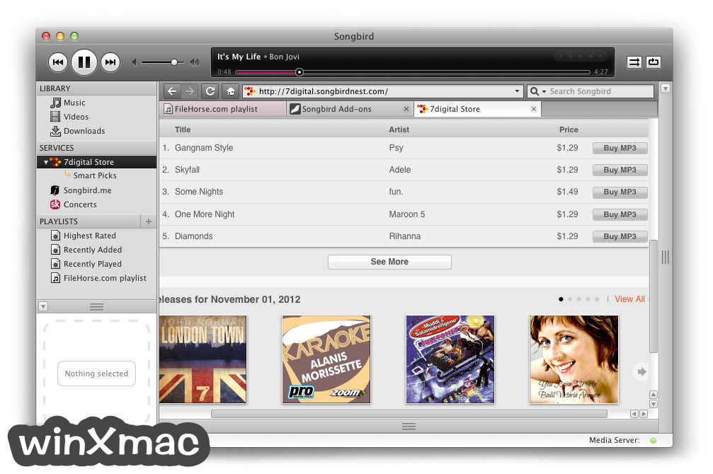 Songbird for Mac Screenshot 4