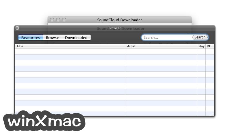 Soundcloud Downloader for Mac Screenshot 3