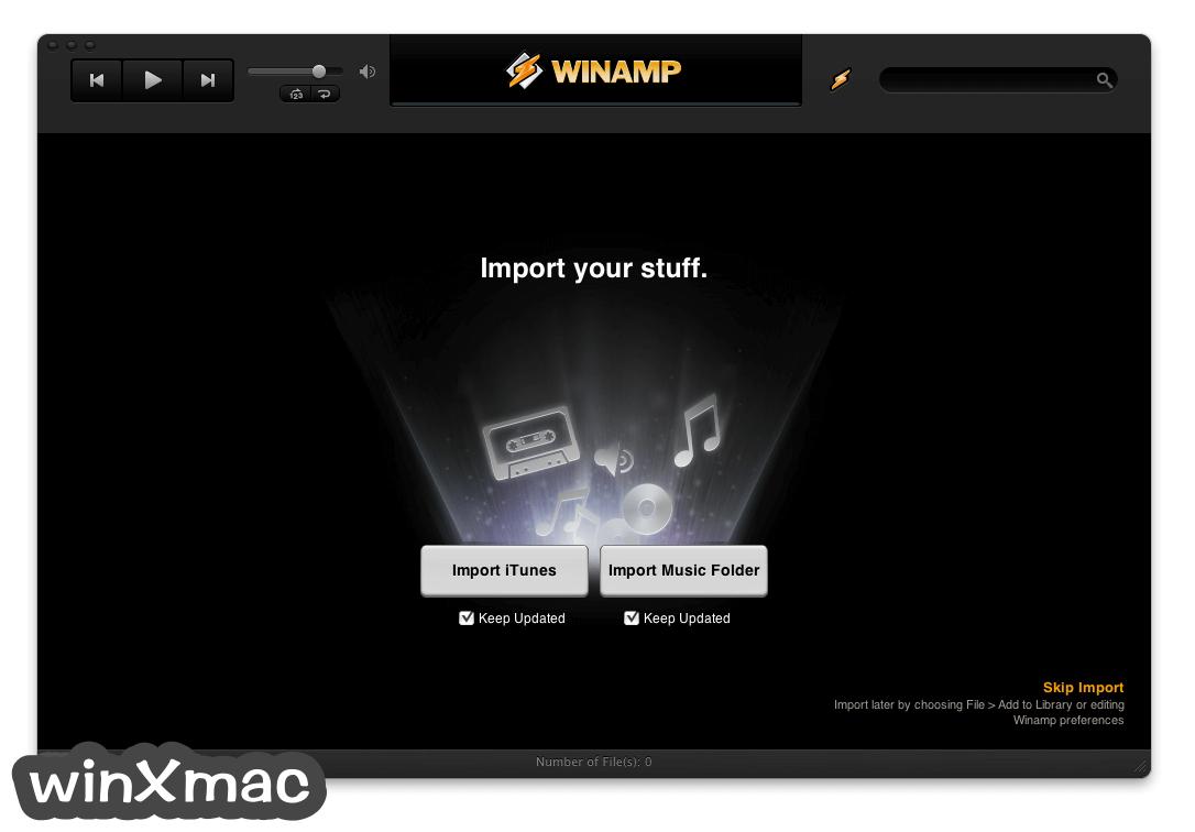 Winamp for Mac Screenshot 1