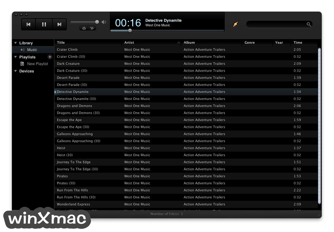 Winamp for Mac Screenshot 3