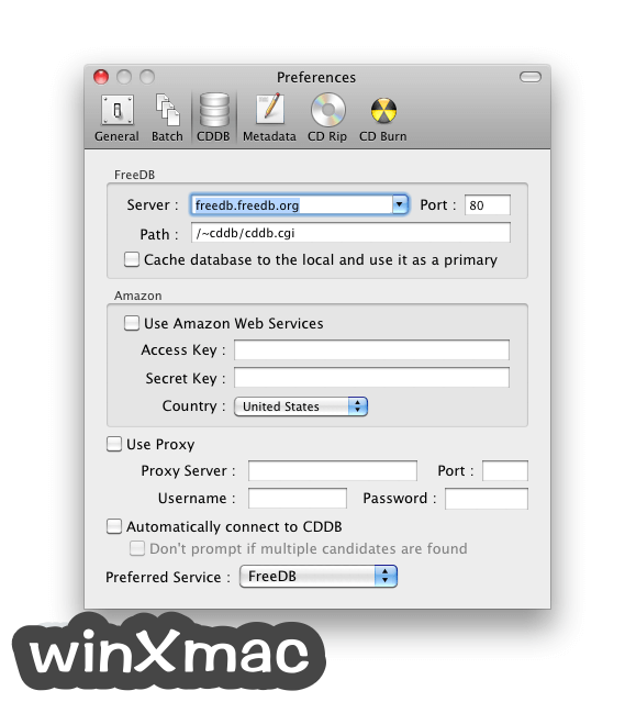 X Lossless Decoder for Mac Screenshot 4