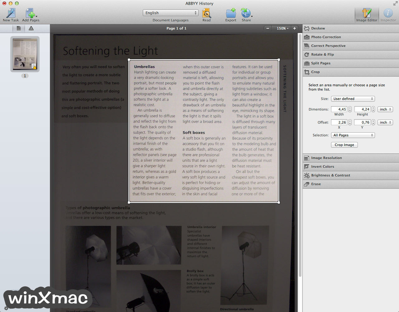 ABBYY FineReader Pro for Mac Screenshot 3