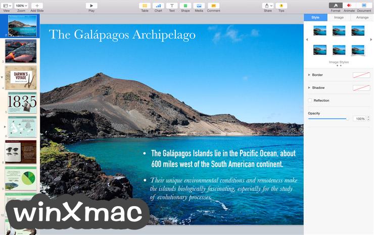 Apple Keynote for Mac Screenshot 1