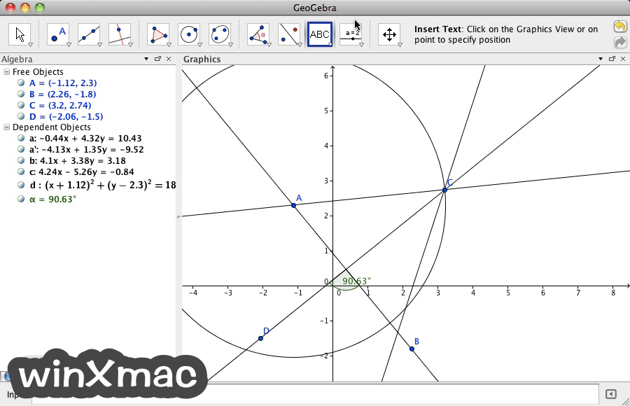 GeoGebra for Mac Screenshot 1