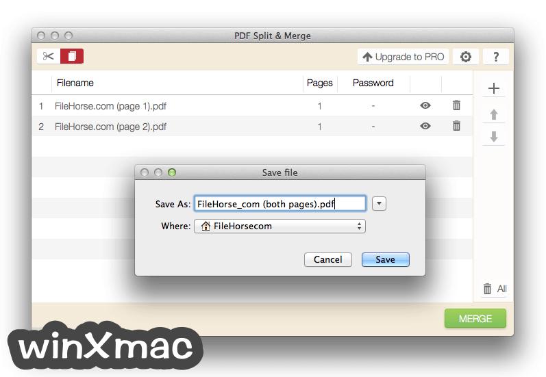 IceCream PDF Split & Merge for Mac Screenshot 4