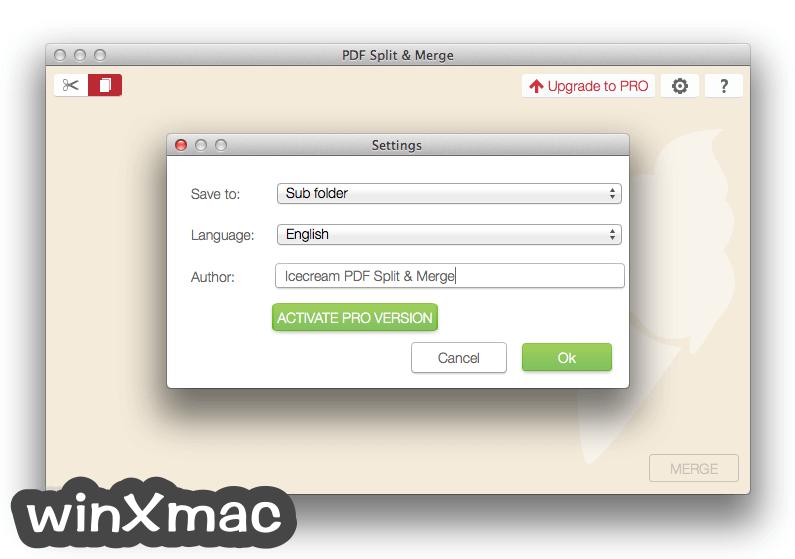 IceCream PDF Split & Merge for Mac Screenshot 5