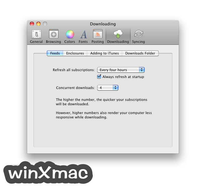 NetNewsWire for Mac Screenshot 5