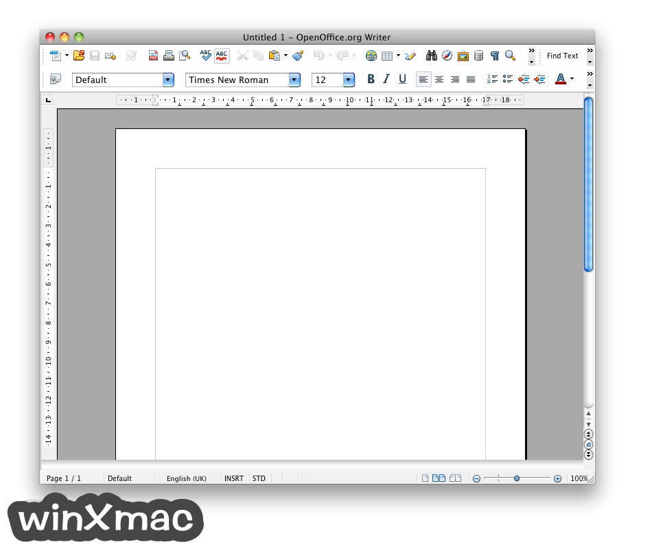 Apache OpenOffice for Mac Screenshot 2