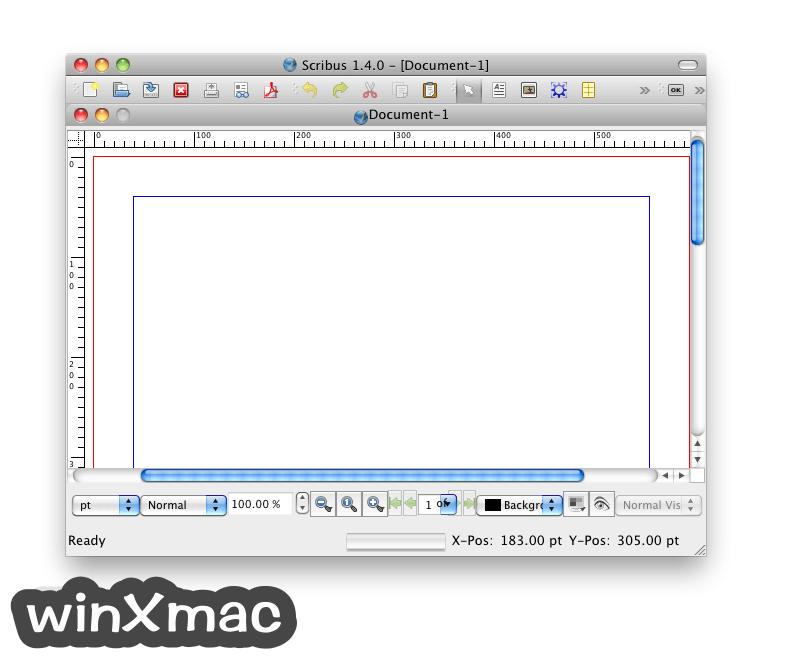 Scribus for Mac Screenshot 1