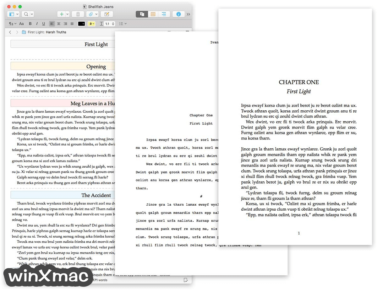 Scrivener for Mac Screenshot 4