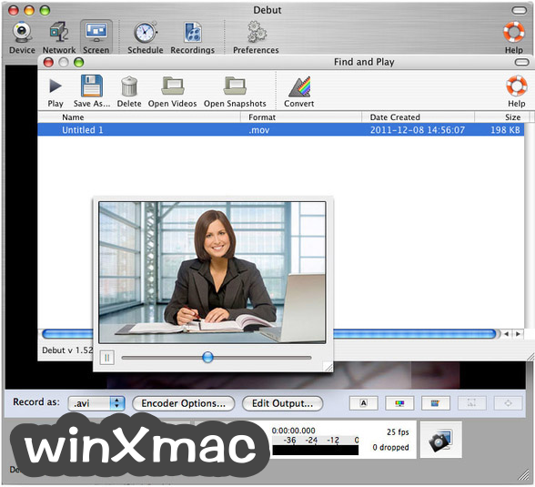Debut Video Capture for Mac Screenshot 3