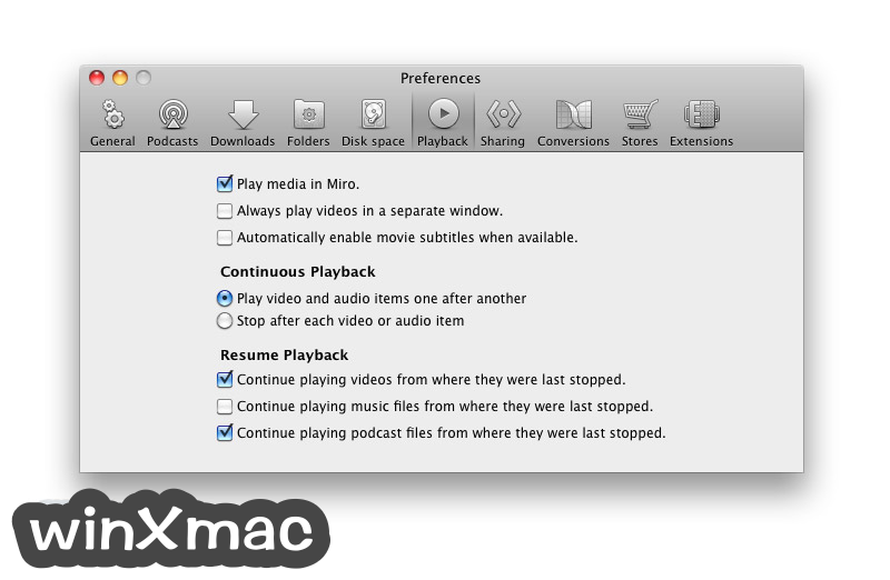 Miro Video Player for Mac Screenshot 4