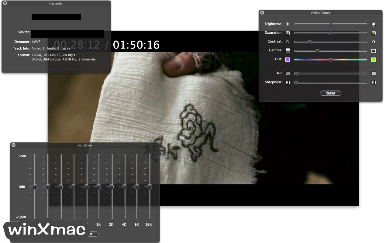 MPlayerX for Mac Screenshot 2