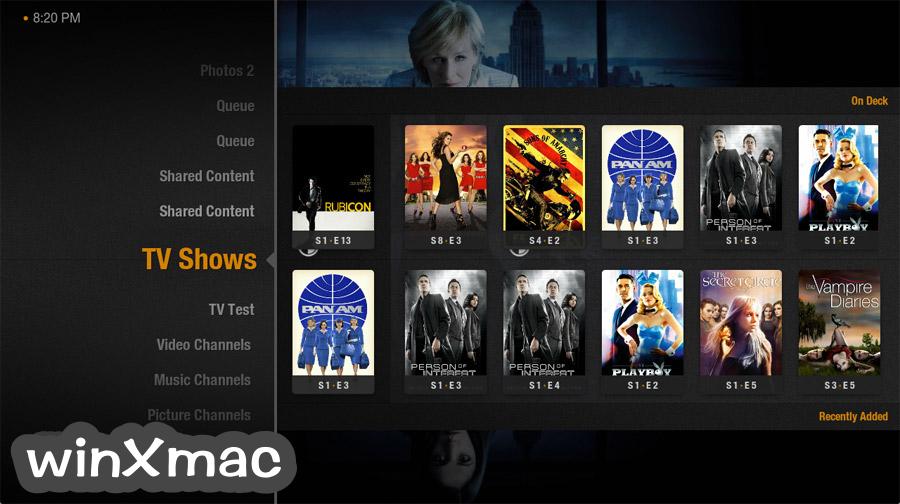 Plex Home Theater for Mac (32-bit) Screenshot 1