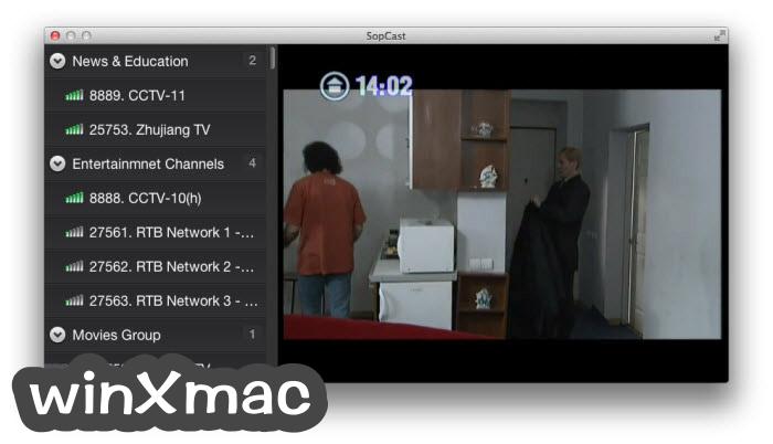 SopCast for Mac Screenshot 2