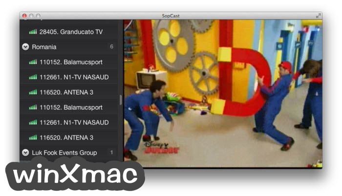 SopCast for Mac Screenshot 4