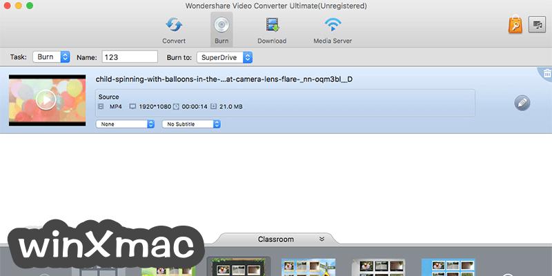 Wondershare Video Converter for Mac Screenshot 3