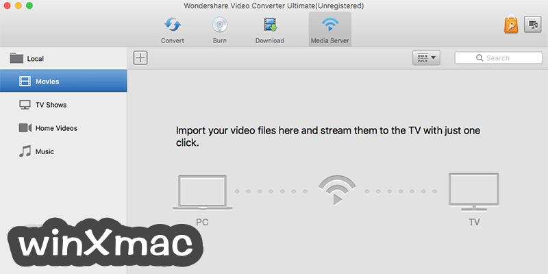 Wondershare Video Converter for Mac Screenshot 5