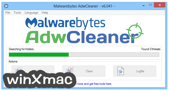AdwCleaner Screenshot 2