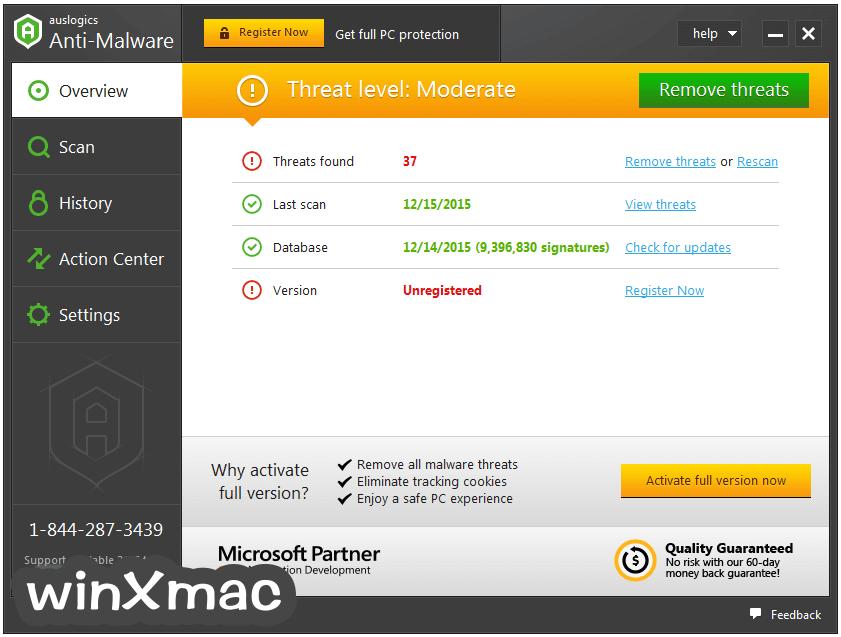 Auslogics Anti-Malware Screenshot 1
