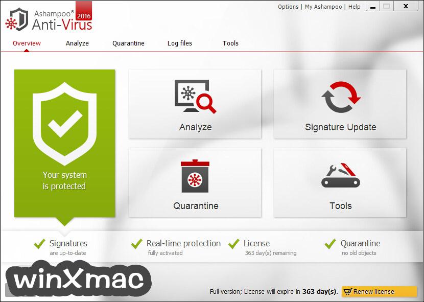 Ashampoo Anti-Virus Screenshot 1