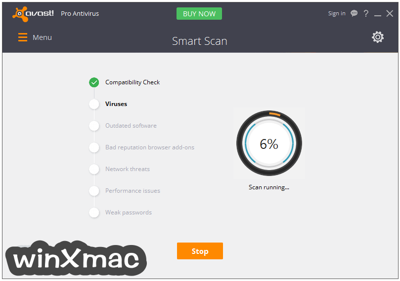 Avast Pro Antivirus Screenshot 2